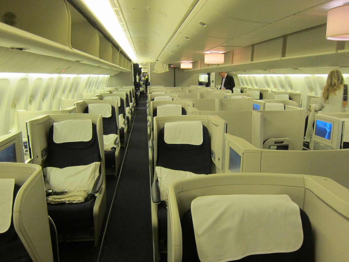 Now Flying: British Airways' First 777 With Club Suites
