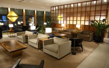 Cathay Pacific First Class Lounge London – 5