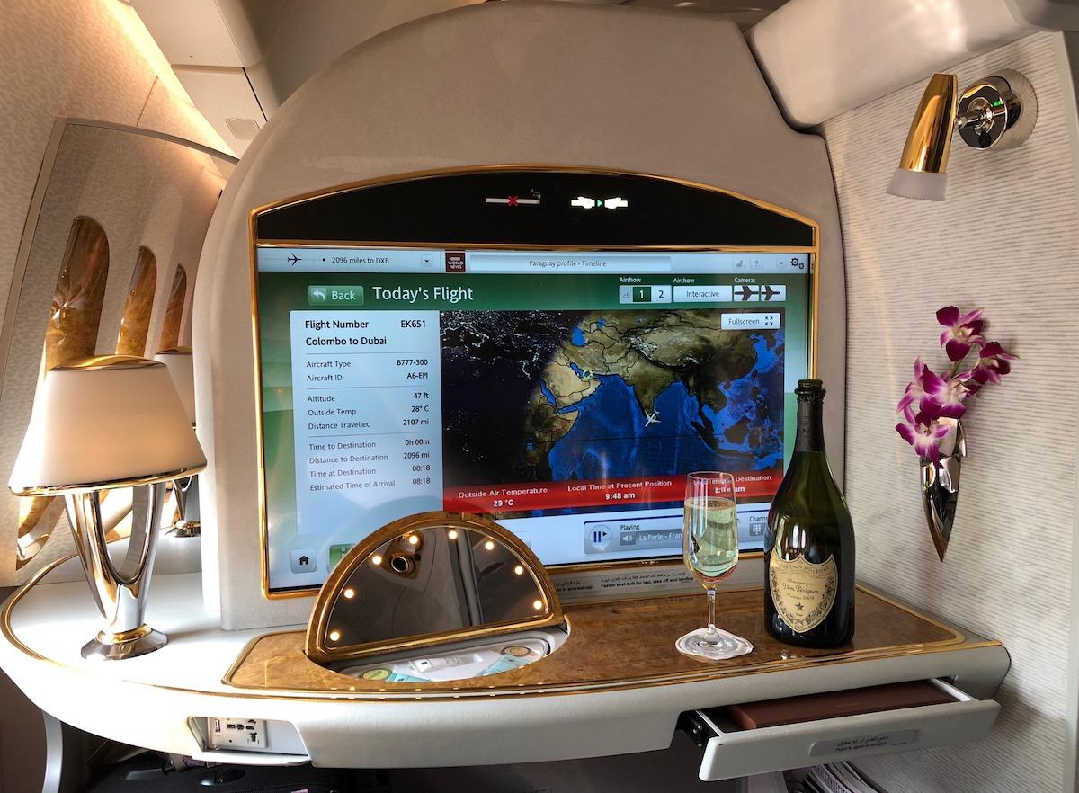 Emirates 777 First Class 10.