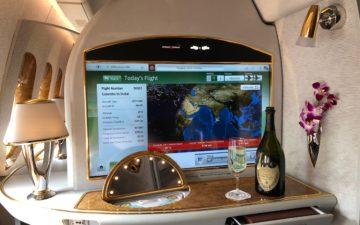 Emirates 777 First Class – 9