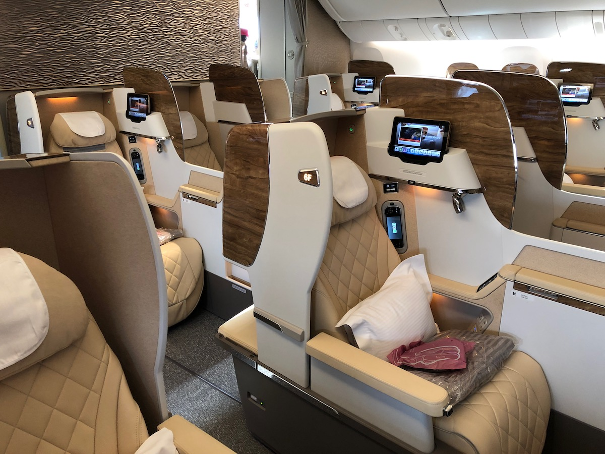 Review: Emirates New First Class 777 Dubai To Brussels | One Mile at