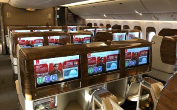 Emirates New First Class – 6