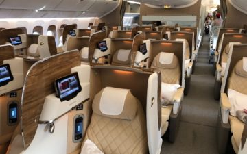 Emirates New First Class – 8