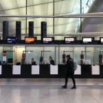 Heathrow Ticketing Desk