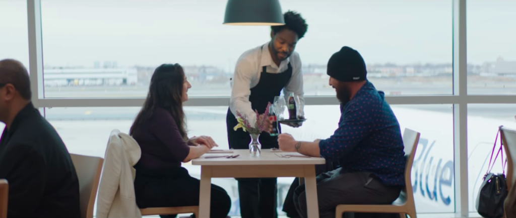 JetBlue Brings Strangers Together With Pop-Up Restaurant