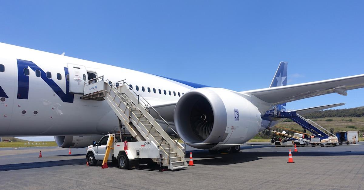LATAM 787 Business Class 21