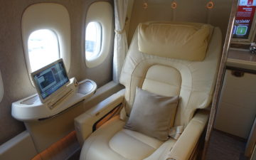New Emirates First Class – 1