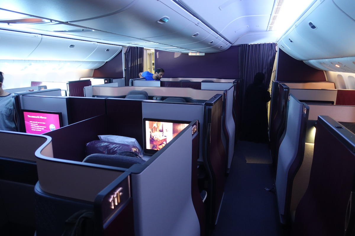 Qatar Airways A350-1000 Delayed Due To Qsuites - One Mile ...