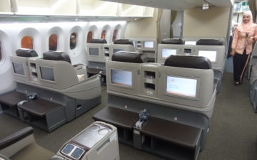 Royal Brunei 787 Business Class