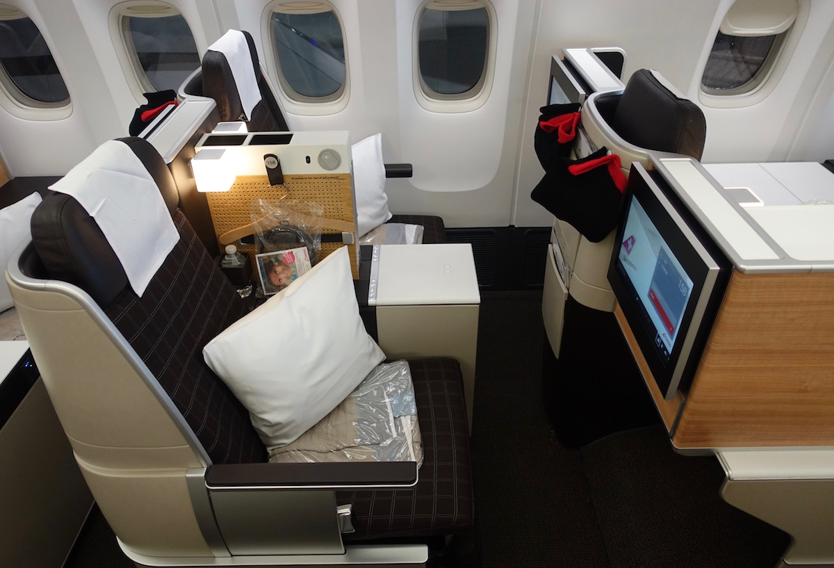 Swiss Business Cl Seats 777