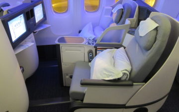 Air China 777 Business Class