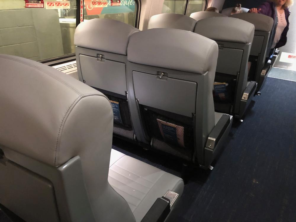 What Are Amtrak S New Interiors Like One Mile At A Time