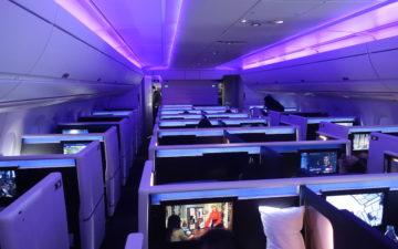 Delta A350 Business Class – 1