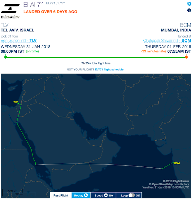 Air India Will Use Saudi Arabian Airspace For New Flight To Tel Aviv ...