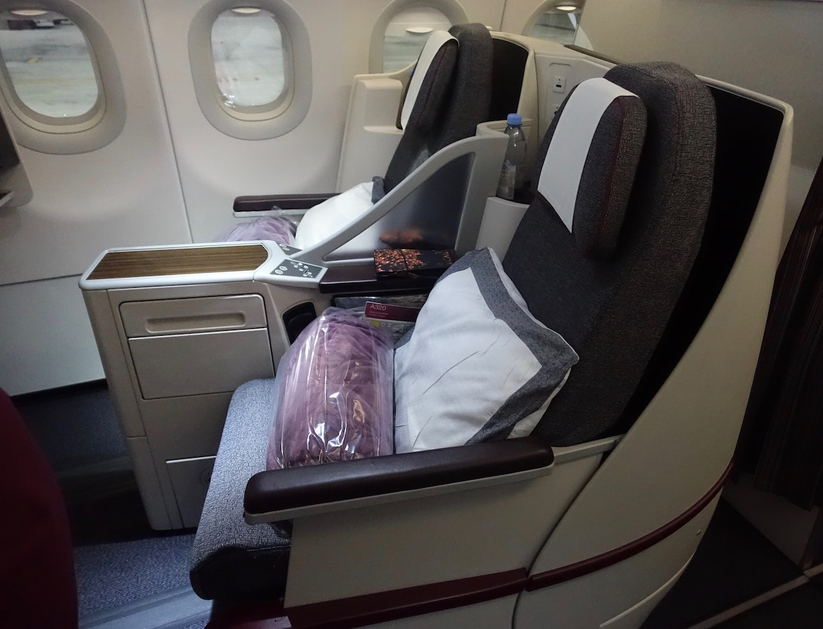 Review  Qatar Airways Business Class A320 Doha To Yerevan
