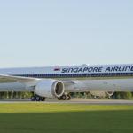 Singapore Airlines 787 10