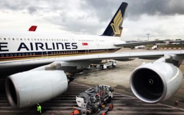 Singapore Airlines Business Class A380 – 13