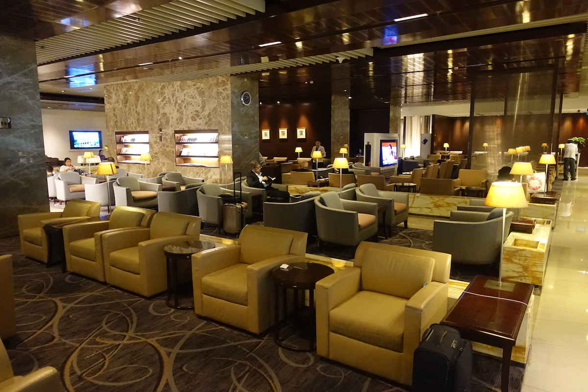 SQ Business Lounge SIN Airport Review I One Mile At A Time