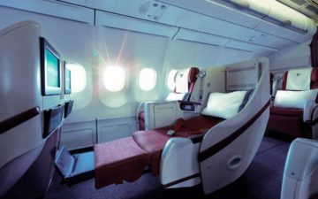 Air Italy Business Class 1