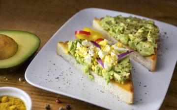 American Admirals Club Avocado Toast 1