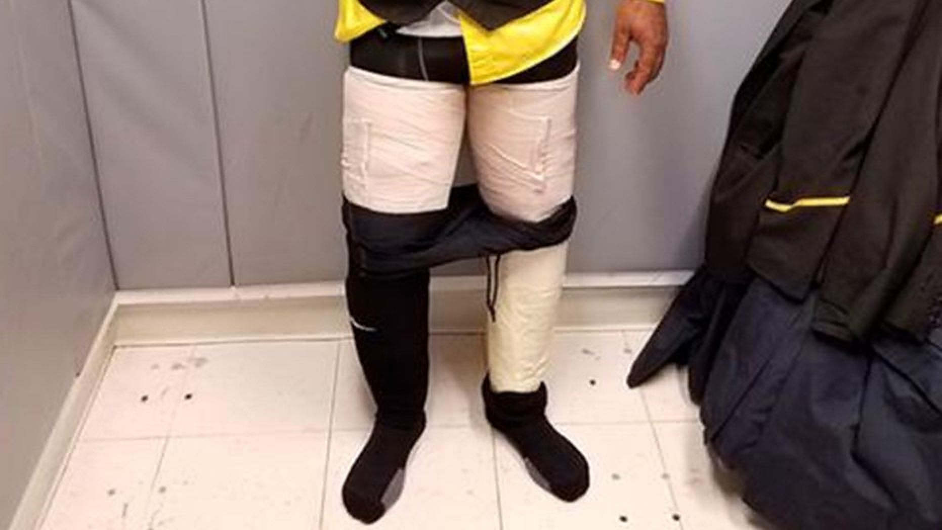 fly jamaica airways flight attendant arrested for