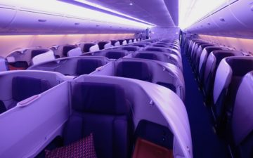 Singapore Airlines A380 Business Class – 1