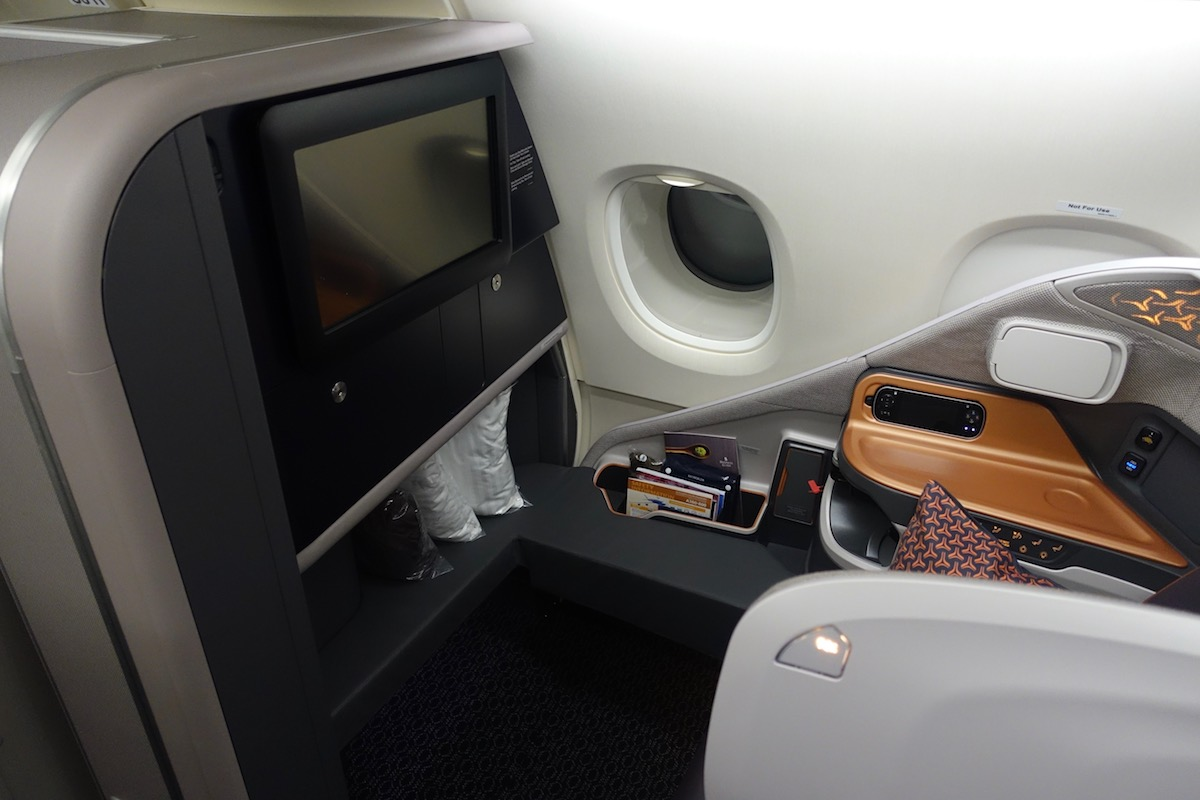 Review: Singapore Airlines New Business Class A380 Singapore To ...