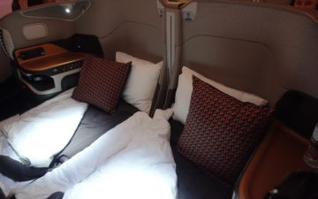 Singapore Airlines A380 Business Class – 73