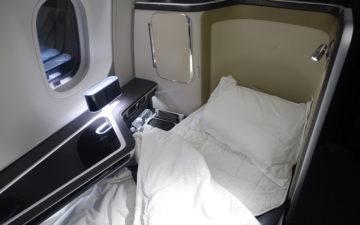British Airways 787 First Class – 11