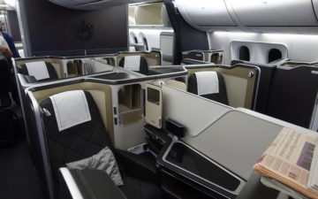 British Airways 787 First Class – 2