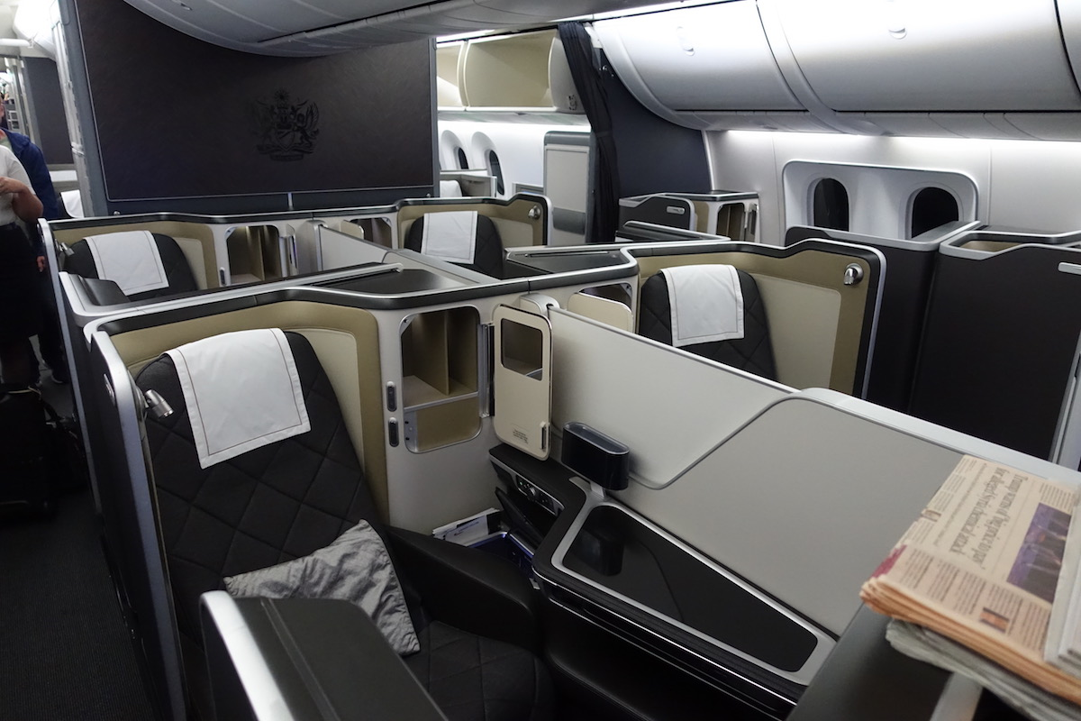 British Airways 787 9 First Class In 10 Pictures One Mile At A Time