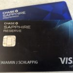Chase Sapphire Cards