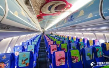 China Eastern Toy Story Plane 4