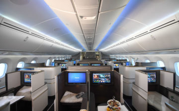 Gulf Air 787 Business Class 3