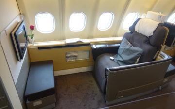 Lufthansa First Class A340 – 3