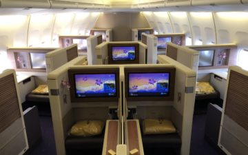 Thai Airways First Class 747 – 2