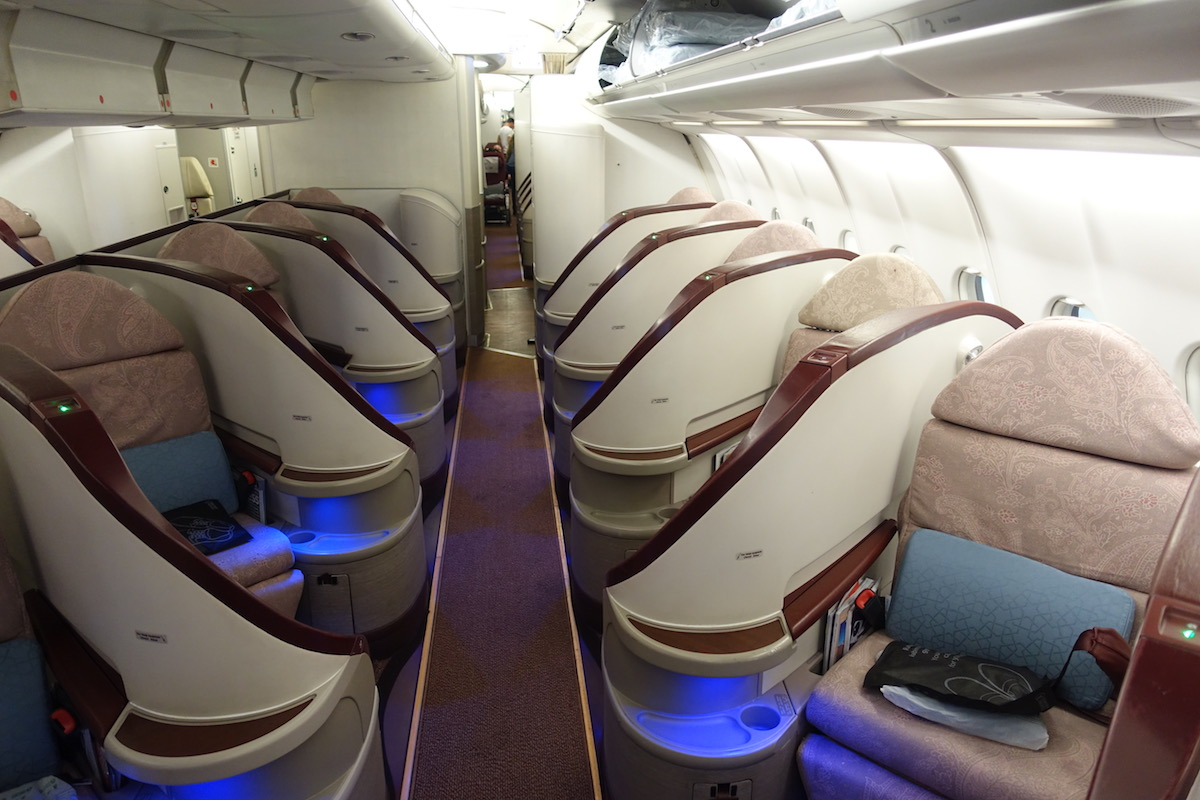 turkish a330 business class in 10 pictures one mile at a. Black Bedroom Furniture Sets. Home Design Ideas