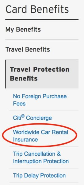 Does My Credit Card Offer Rental Car Insurance One Mile At A Time