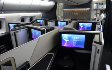 British Airways First Class 787 – 2