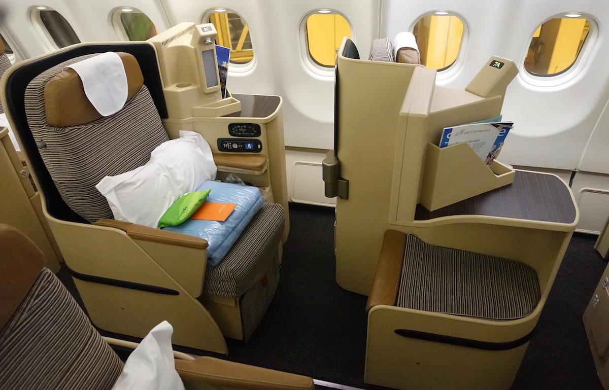 Etihad Business Class A330