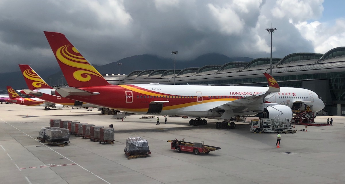 Hong Kong Airlines A350 Business Class In 10 Pictures One Mile At A Time