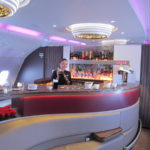 Qatar Airways A380 Bar
