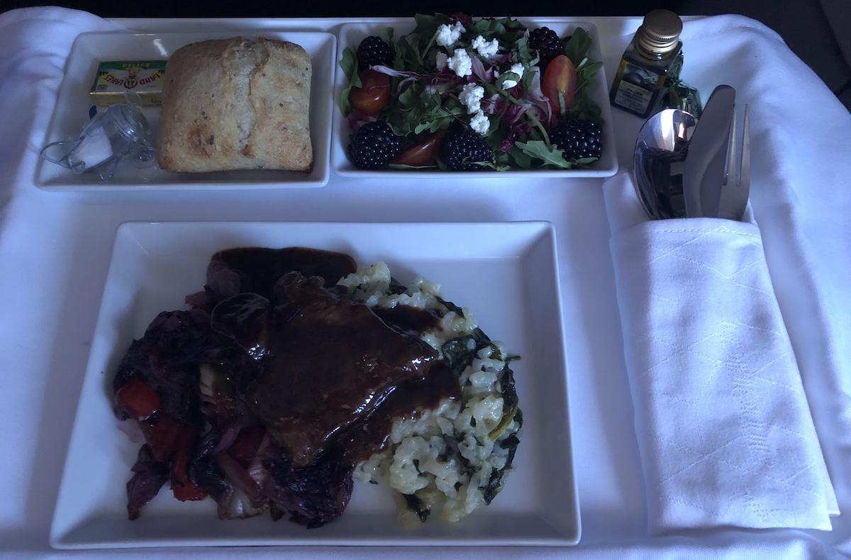 A Look At Alaska Airlines New First Class Summer Menu