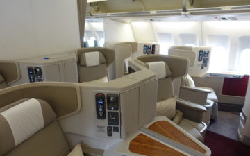 Cathay Dragon First Class A330 – 4