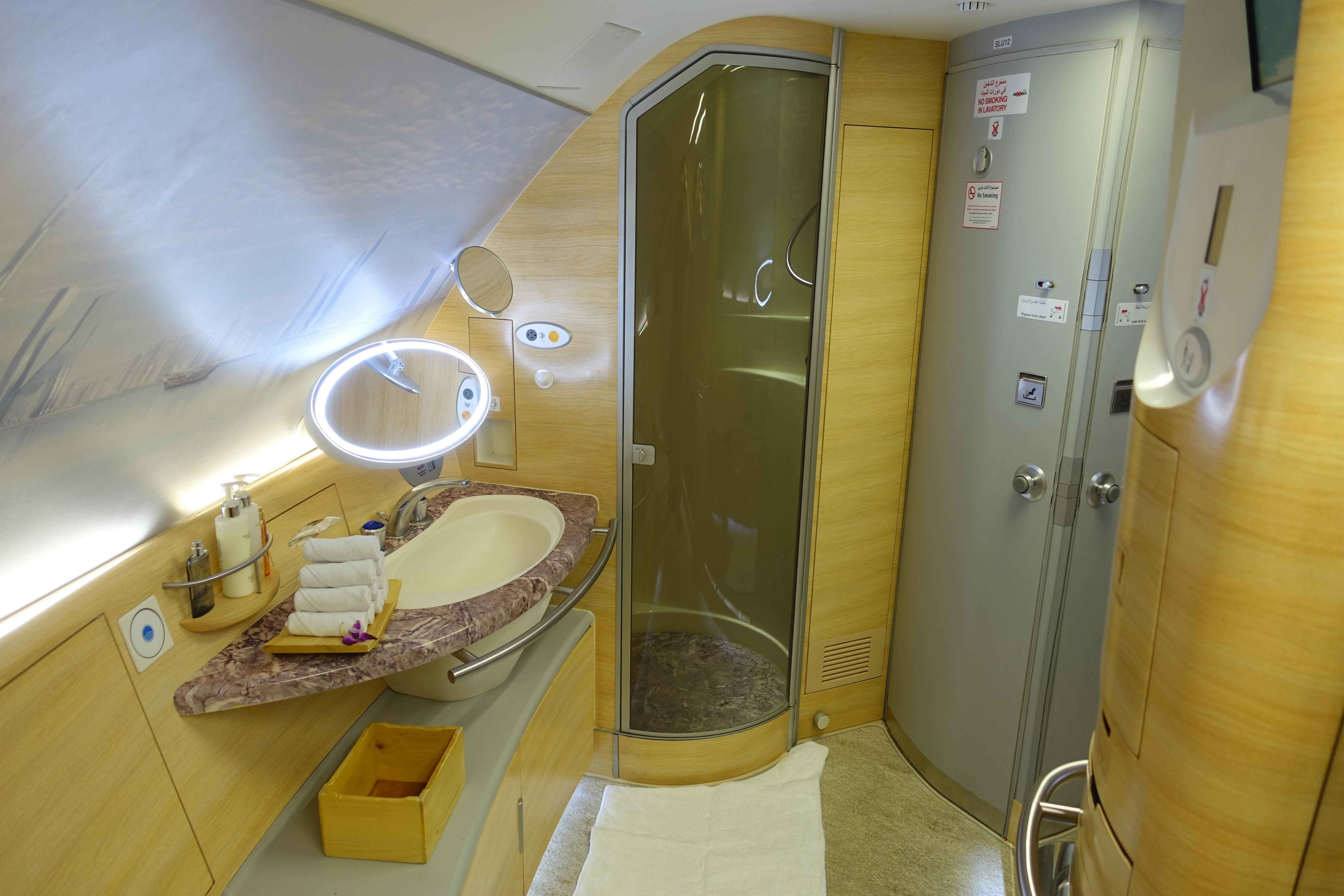 Emirates A380 First Class 11