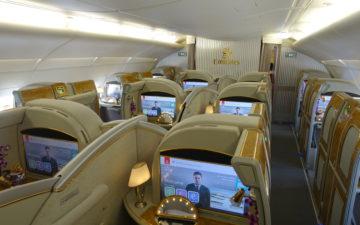 Emirates A380 First Class – 2