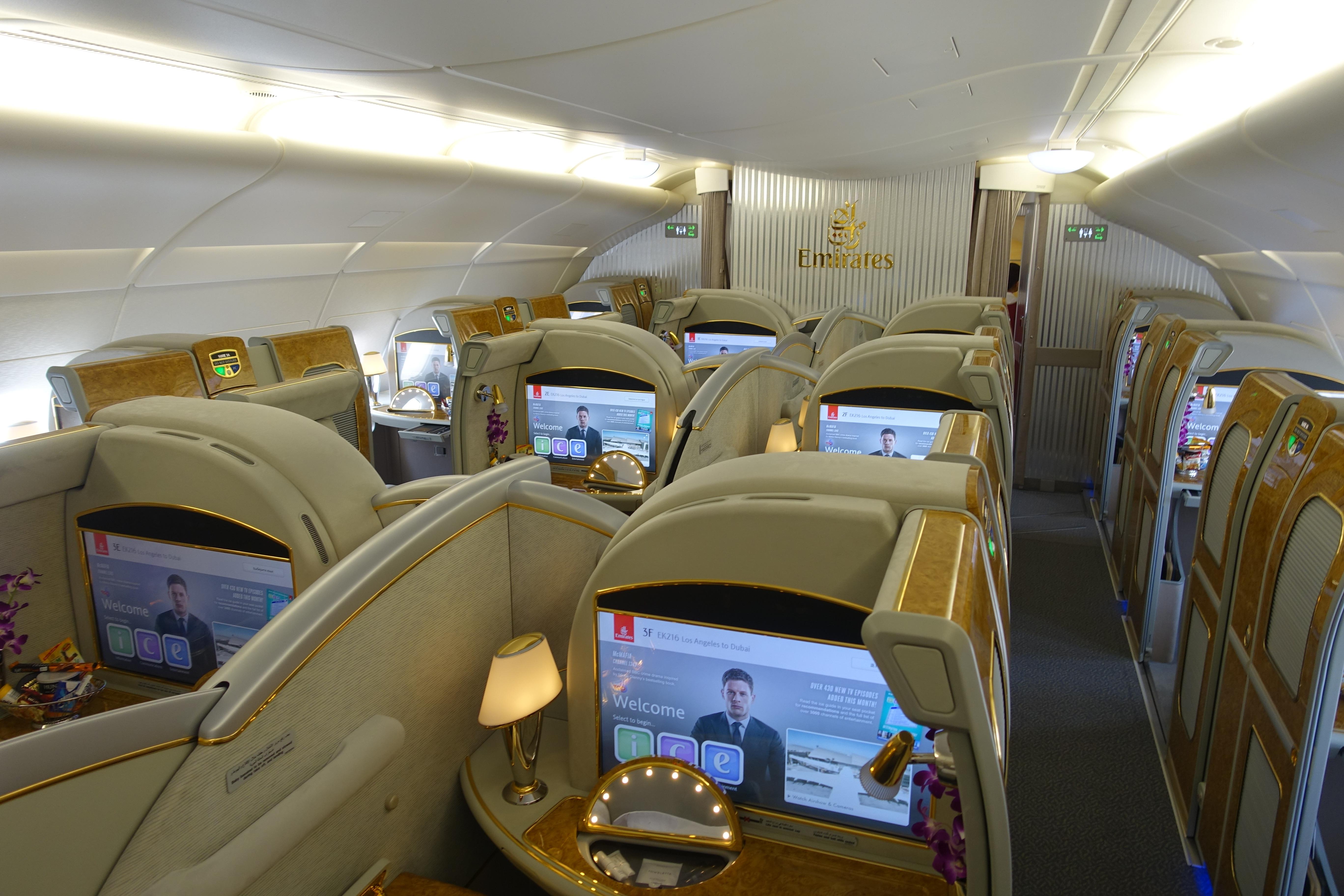 Emirates A380 First Class 2