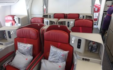 Hong Kong Airlines Business Class A350 – 2