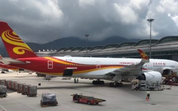 Hong Kong Airlines Business Class A350 – 26