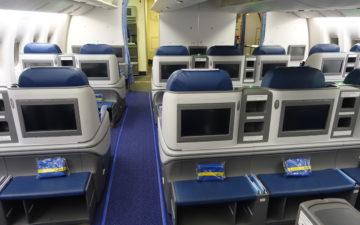 Ukraine Business Class 777 – 8
